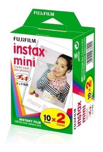 20 Filmes Instantâneo Instax Para Polaroid 300 Pack