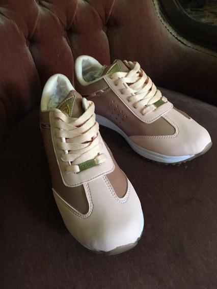 Lmo 006 Zapato Deportivo De Damas Marca Guess. Talla 36