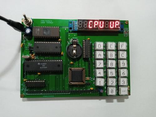 Imagem 1 de 2 de Kit Microprocessador 6800 Com Cabo Usb Não É Arduino Z80