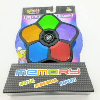 Juego De Memoria Con Luz Y Sonido - Memory Game - Diversión