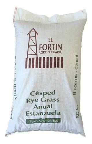 Semilla De Cesped Rye Grass Anual X 25 Kg