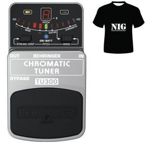 Pedal Ainador Cromático Behringer Tu300 [ Camiseta Brinde ]