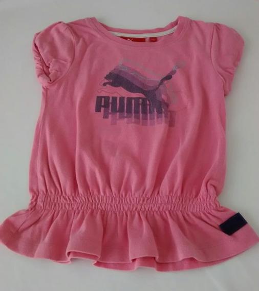 Remera Niña Puma Original Talle 3 Años