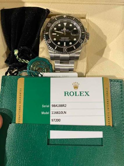 Rolex Submariner 116610ln Cerâmica