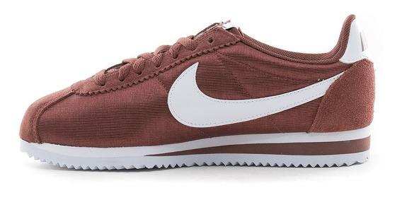 Zapatillas Nike Cortez Classic Nylon Red Shepya - Mujer