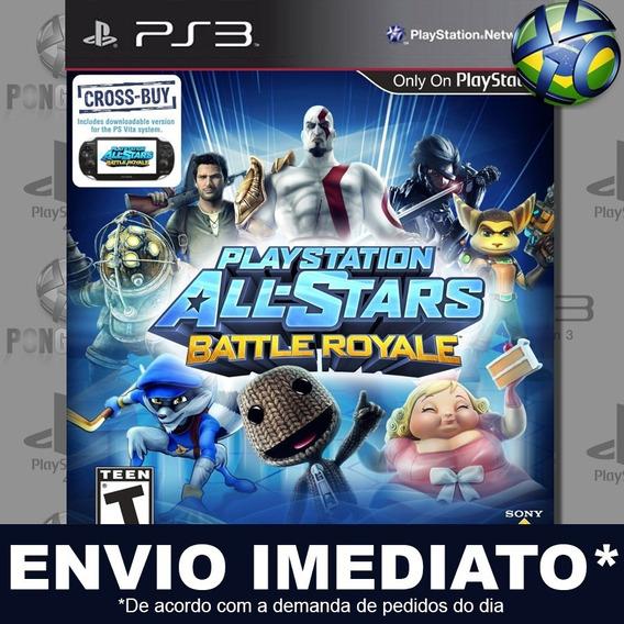 Playstation All Stars Battle Royale Ps3 Psn Jogo Em Promoção