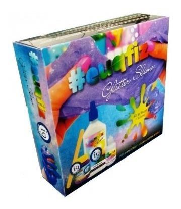 Slime #euqfiz Slime Glitter - I9 Brinquedos Eu Que Fiz Kit