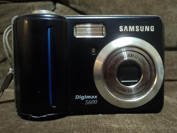 Câmera Digital Samsung Digimax S600 Funcionando