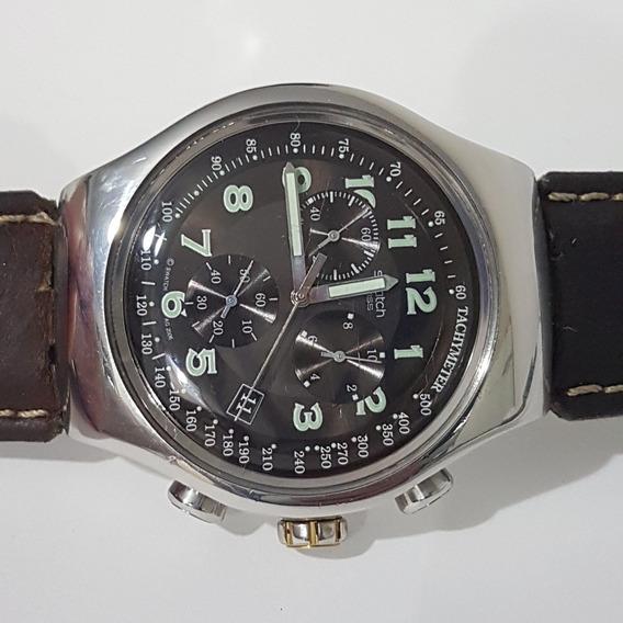 Relogio Swatch Swiss Todo Original Cronografo Barato Tudookk