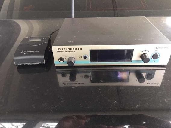 Sennheser Ew300 Iem G3 Sistema Monitoramento Sem Fio