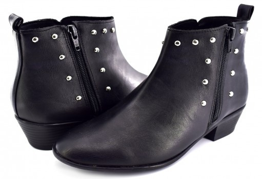 Botin Lady Paulina 95803 Boston Negro Denisse 22 Al 27 Dama