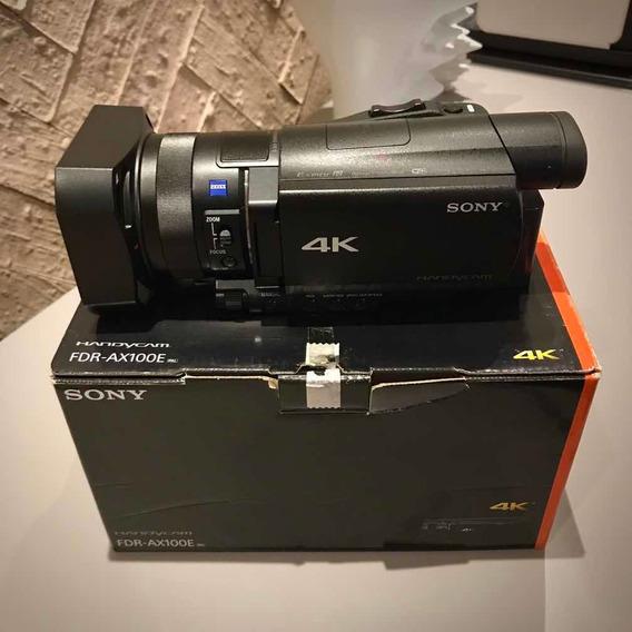 Sony Fdr Ax100 4k Câmera