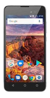 Smartphone Multilaser Ms50l 3g Quadcore 1gb Ram Tela 5 Pol. Dual Chip Android 7 Preto/grafite - P9051