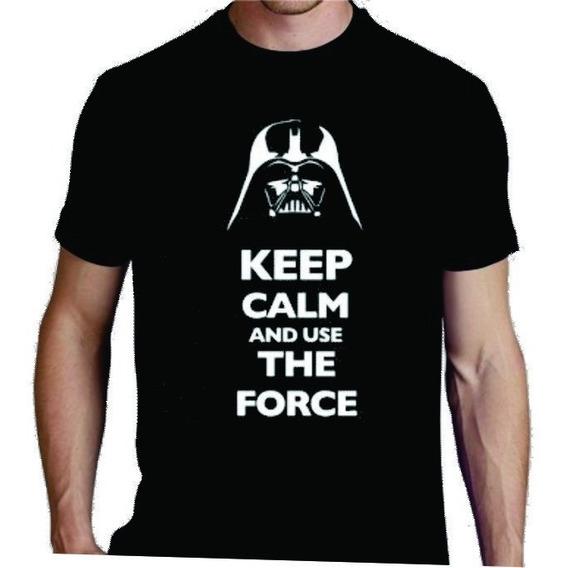 Remera Star Wars La Fuerza Esta Contigo