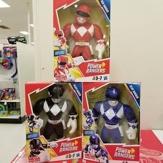 Power Ranger X 3 Azul Rojo Negro 25 Cm Hasbro Playskool