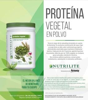 Proteína Vegetal En Polvo Nutrilite De Amway Oferta