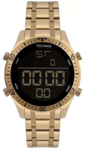 Relógio Masculino Technos Racer T02139ad4p Dourado C/ N F