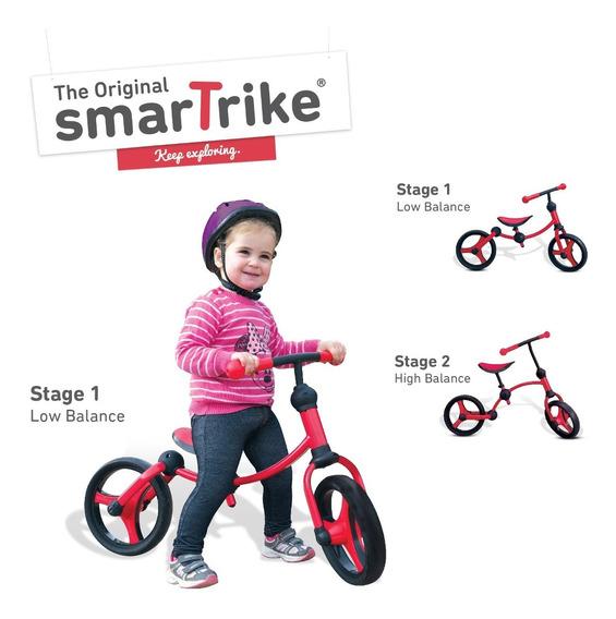 Running Bike Red Smart Trike