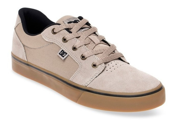 Tênis Original Dc Shoes Anvil La - Grey Gum
