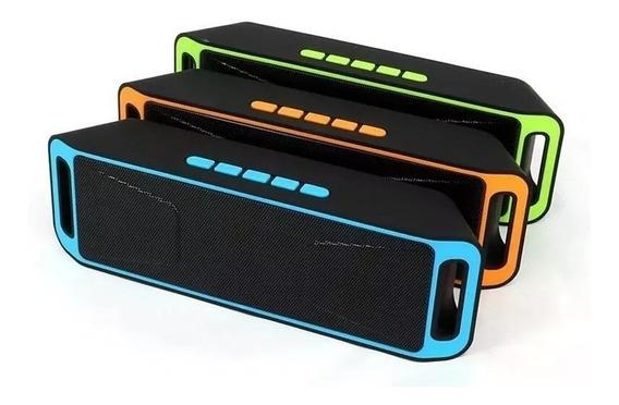 Corneta Sc208 Megabass Altavoz Speake Bluetooth Pendrive Sd