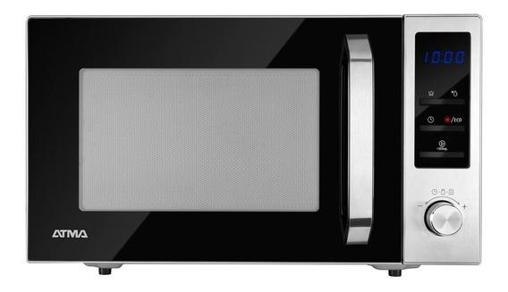 Microondas Con Grill 28 Lts Atma Md1828gn Digital