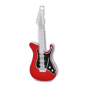 Ud002 Metal Guitarra Elétrico Estilo Usb 2.0 Flash Distânc