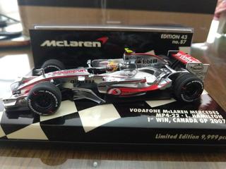 F1 - Lewis Hamilton - Mclaren 2007 - 1:43 - Primeira Vitória