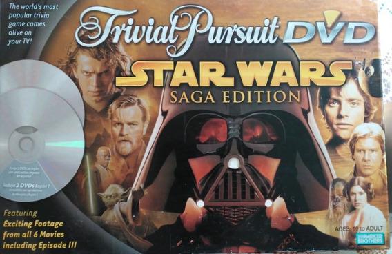 Star Wars Juego De Mesa Pursuit Trivia Dvd Saga 2005