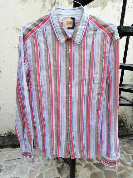 Camisa Hugo Boss Orange Label T. Grande