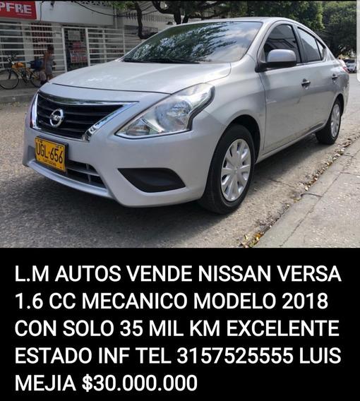 Nissan Versa L.m Autos Vende Nissan Versa 1.6 Cc Mecanico Mo