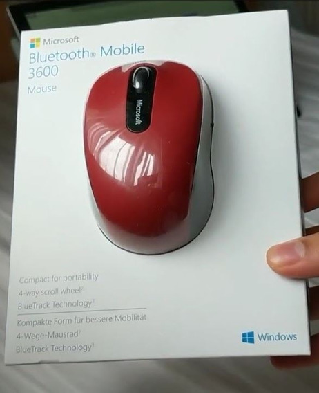 Microsoft Bluetooth Mobile Mouse 3600 Funciona iPad Ios 13 iPad Os