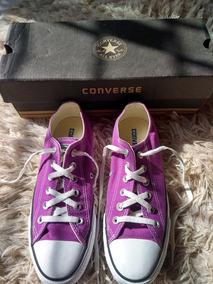 Converse All Star Roxo