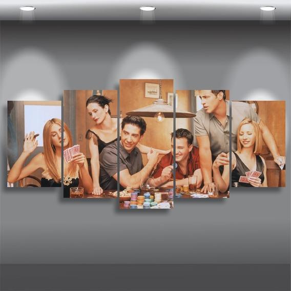 Quadro Friends Série Ross Chandler Monica Rachel Phoebe