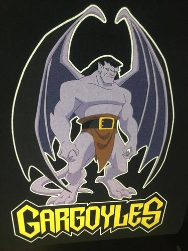 Imagen 1 de 2 de Gargoyles - Gargolas Goliat - Animacion - Polera- Cyco Recor
