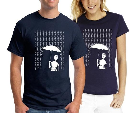 Remera Robotin - Estampados Con Onda - Diseño Exclusivo