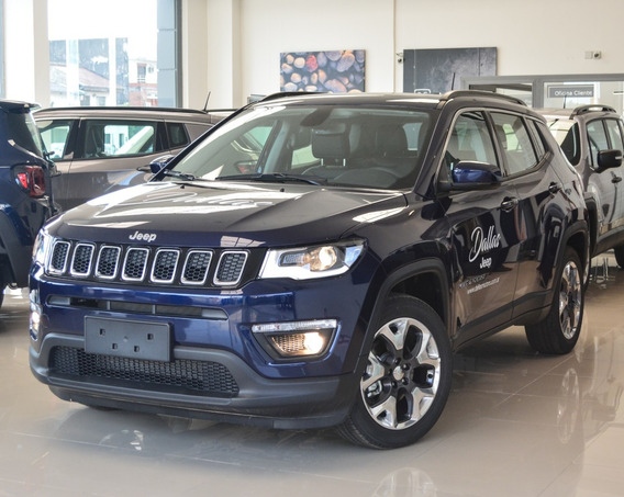 Jeep Compass Longitude 2.4l At6 Fwd Azul -,
