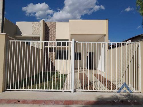 Imagem 1 de 17 de Casa Com 2 Dormitórios À Venda, 78 M² Por R$ 235.000,00 - Columbia - Londrina/pr - Ca0756