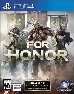 For Honor - Ps4 Fisico Nuevo & Sellado