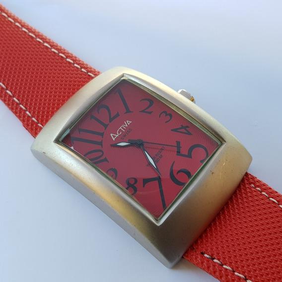 Relógio Activa Cuadro Sl052-003 Swiss Movement