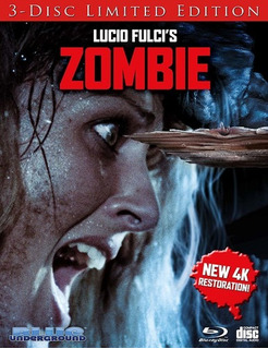 Zombie (cover B Splinter) Blu-ray Us Import