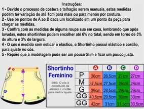 Kit 4 Shorts Feminino Shortinho Moletinho Moletom Curtinho