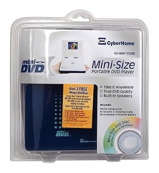 Dvd Player-para Mini Disco 8cm Tela 2.5