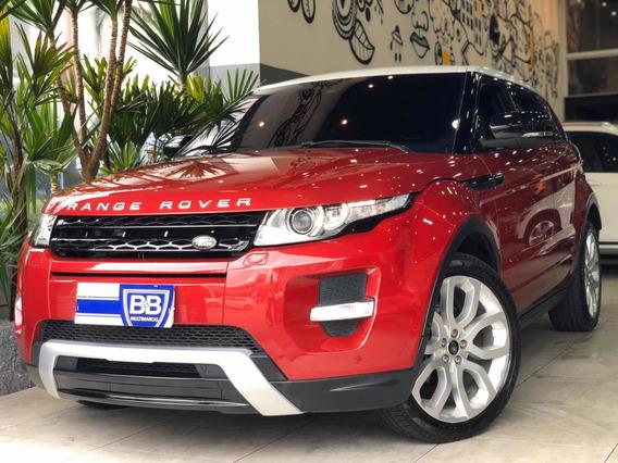 Land Rover Evoque Dynamique Awd 2013 Com Teto Solar
