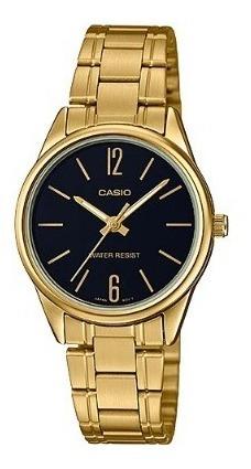 Relógio Casio Feminino Analógico Ltp-v005g-1budf