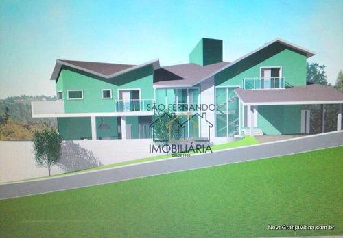 Imagem 1 de 5 de Casa Residencial À Venda, Parque Das Rosas, Cotia - Ca0629. - Ca0629