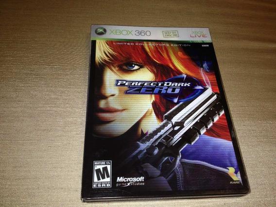 Perfect Dark Zero Limited Collectors Edition Caixa De Metal