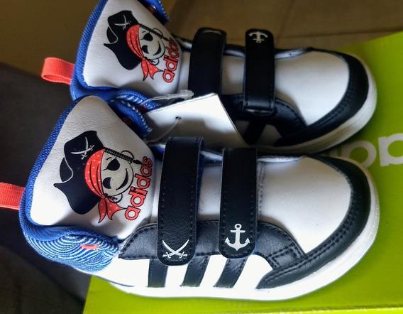 Tênis adidas Hoops Mid Infantil 22