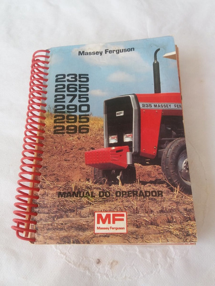 Manual Trator Massey Fergunson (235-265-275-290-295-296)