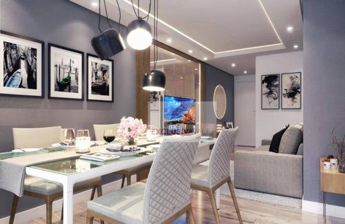 Imagem 1 de 6 de Apartamento Com 2 Dormitórios À Venda, 60 M² Por R$ 268.690 - Jardim Paraíso - São José Dos Campos/sp - Ap3337