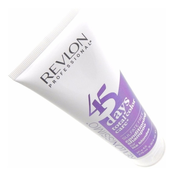 Shampoo 2 En 1 Para Rubio Claro Revlon Revlonissimo X 275ml